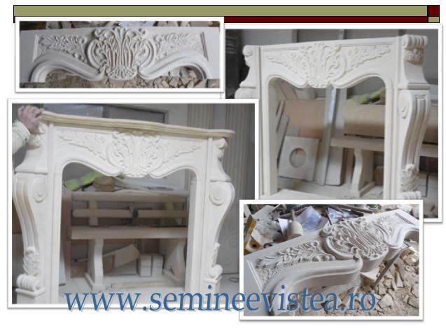 semineu clasic sculptat austria